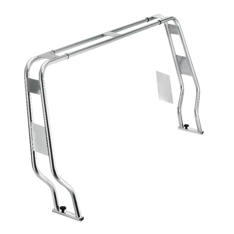 Arco de luces Roll Bar Inox Ajustable 40mm x H1450mm