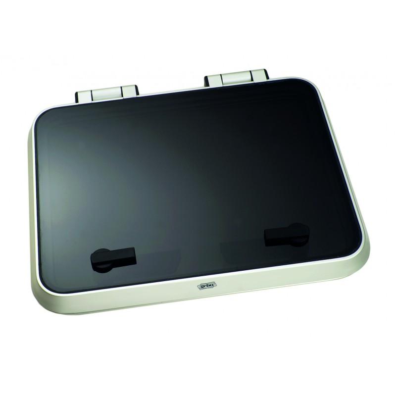 Escotilla Gebo Aluminio Anodizado Low Profile 680 x 680 mm