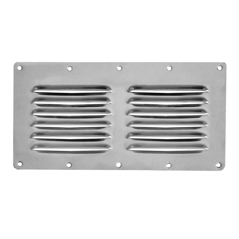 stainless steel louver vents 230x115 mm