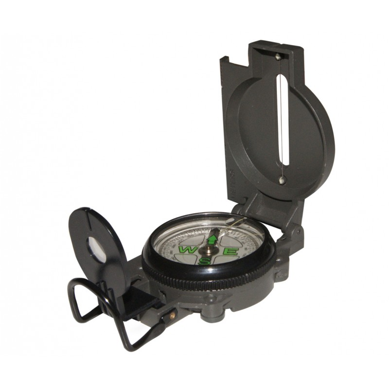 Handbearing Compass with side scale-meter