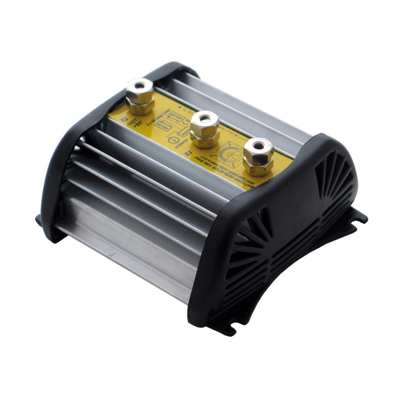 Aislador y Repartidor de Carga Automatico para 2 Baterias 50 amp