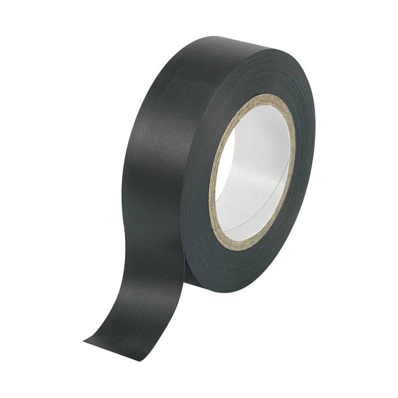 Cinta adhesiva negra en polivinilo para reparaciones 15mm x 10mt