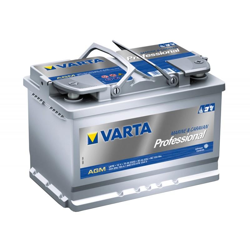 Batería Varta Prof. Agm 70 Ah