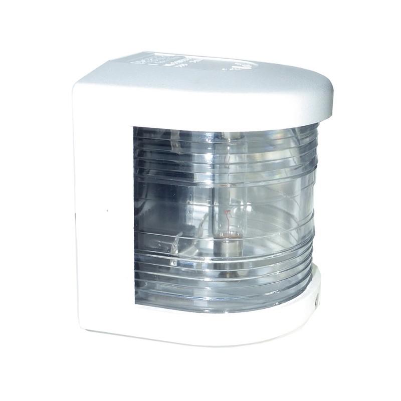 Luz de Navegacion Aquasignal S25 carcasa Blanca señal de PROA