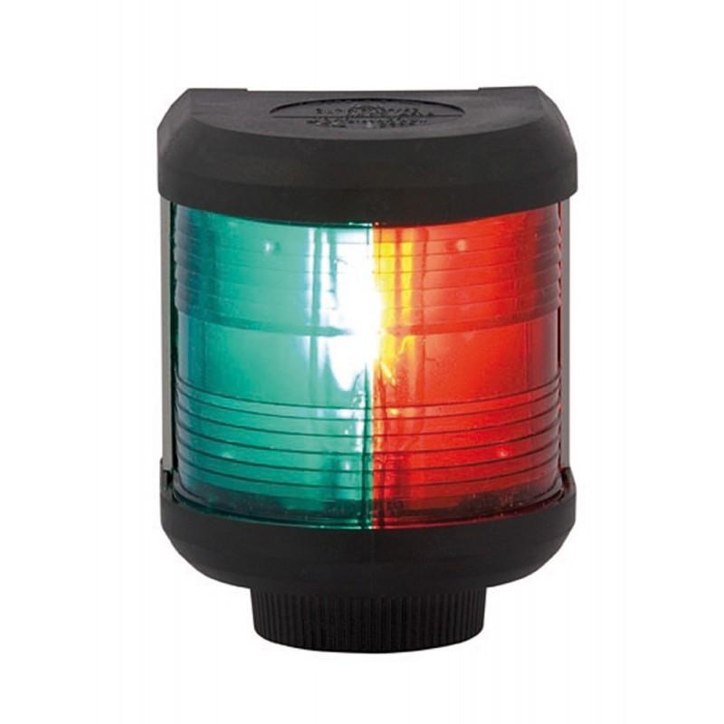 Luz de Navegacion Aquasignal S40 carcasa Negra Bicolor