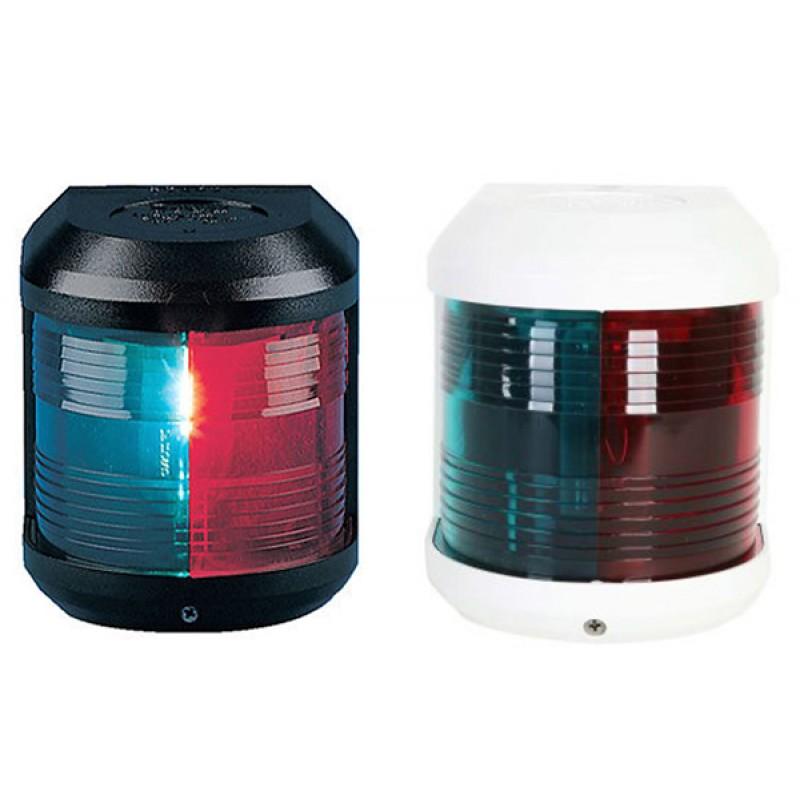 Luz de Navegación Aquasignal S41 carcasa Negra luz Bicolor