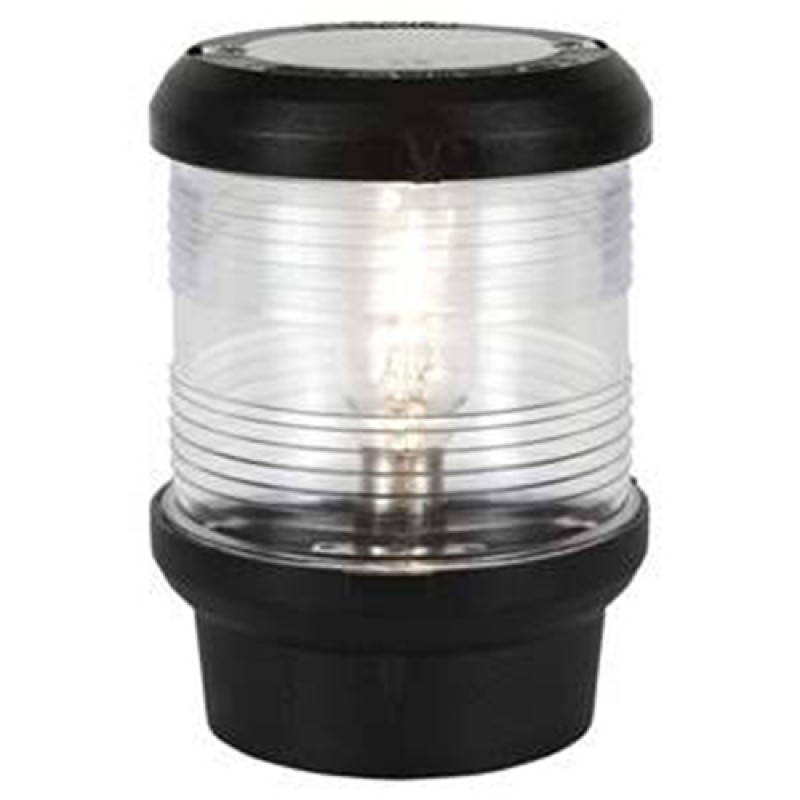 Luz de Navegacion Aquasignal S40 Carcasa Negra , Todo Horizonte