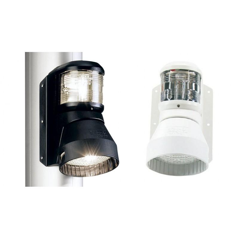 Luz Combinada Aquasignal S41 Carcasa Blanca con proyector cubierta