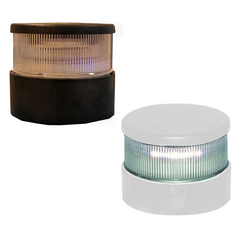Luz de Navegacion LED Aquasignal S34 Carcasa Blanca Todo Horizonte