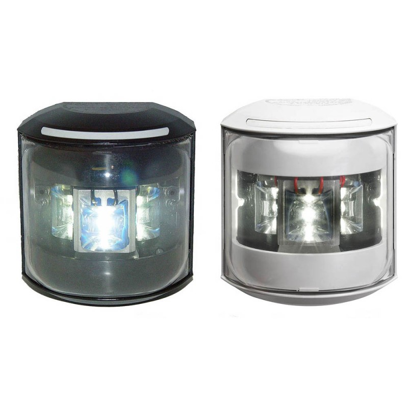 Luz de Navegacion Led Aquasignal S43 Carcasa Blanca, luz de proa