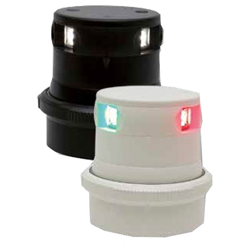 Led Aquasignal S34 Bicolor housing black navigation light