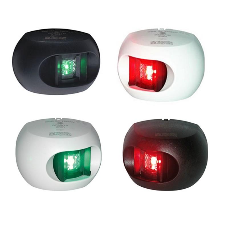Luz de Navegacion Led Aquasignal S34 Carcasa Blanca luz Roja