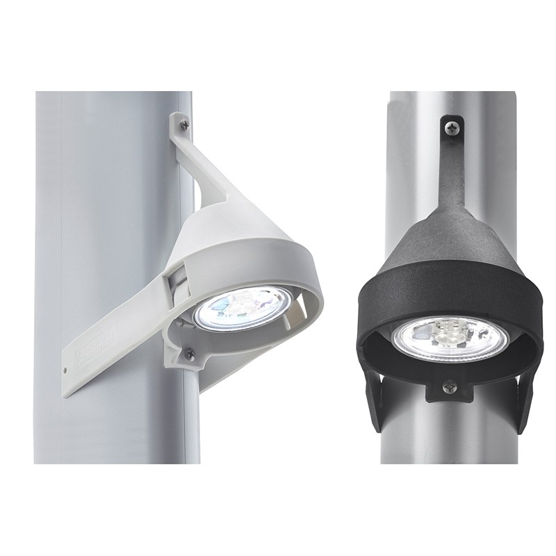 Black model Aquasignal Led Spotlight Kiel