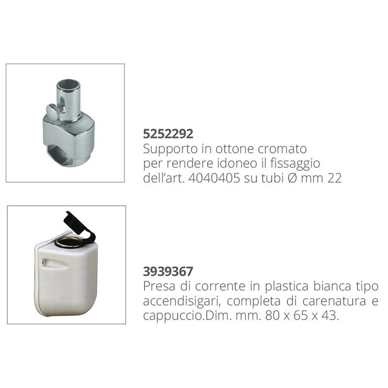 Projector Nautico Manual 12v, plug to cigarette lighter