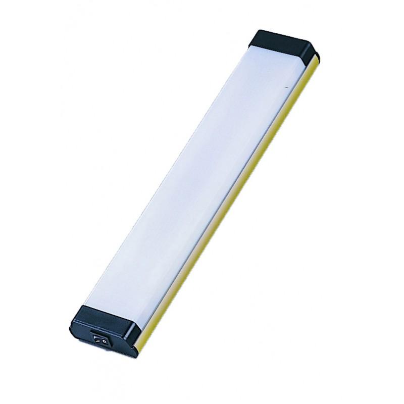 Plafon Fluorescente Dorado Rectangular 6 W, 12V 305mm