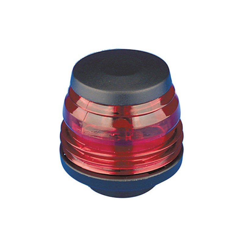 Black & Red Navigation Light Posidone Rina Approved H60mm