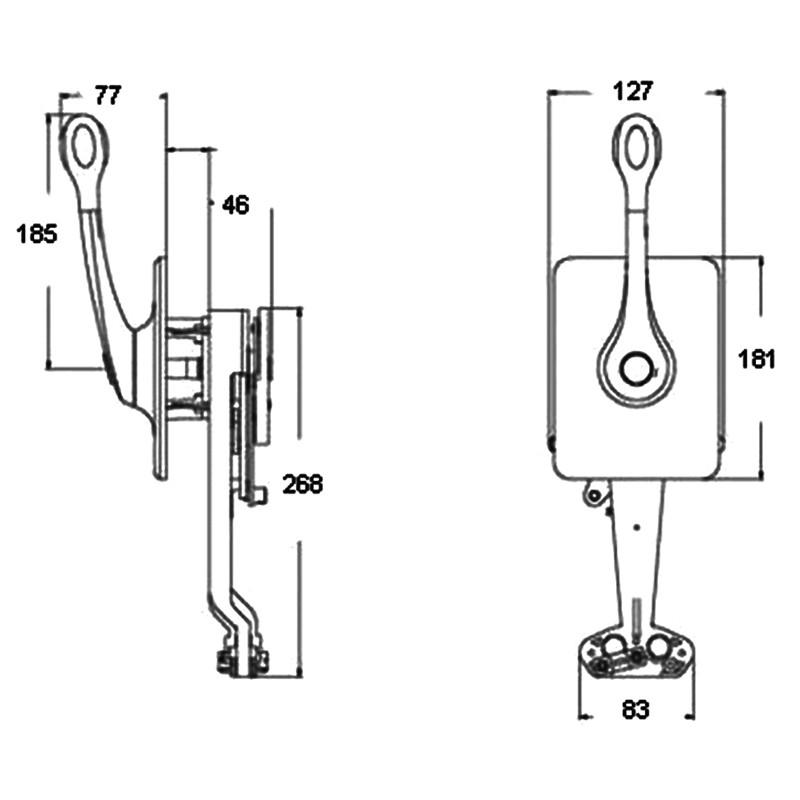 Mando Morse Ultraflex B400