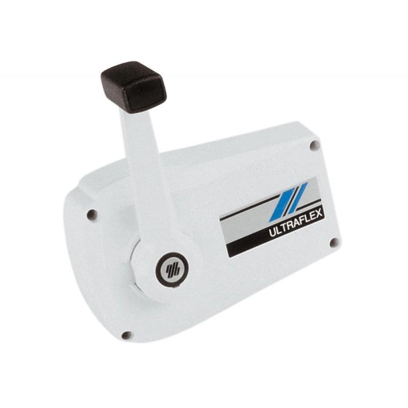 Mando Morse Ultraflex B89 Doble accion color crema