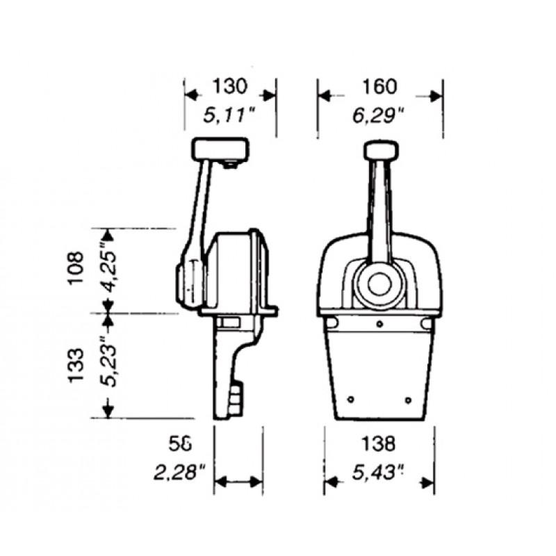 Morse Control Ultraflex B73