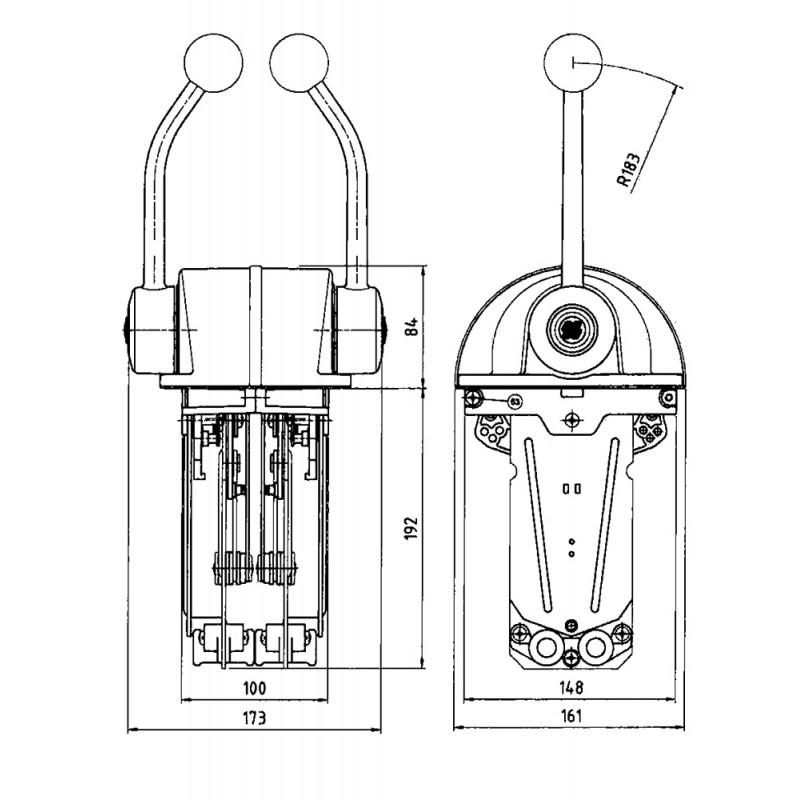 Morse Control Ultraflex b322s