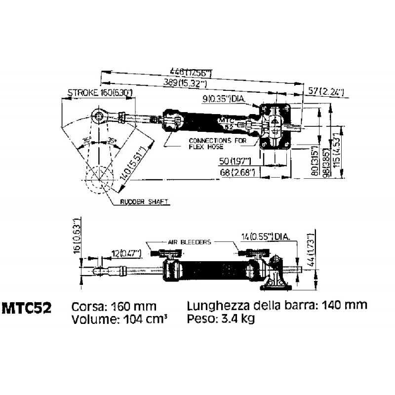 Cilindro Vetus MTC 52