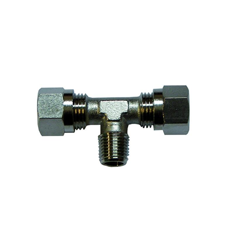Racor T vetus Hidraulico para Manguera 12mm