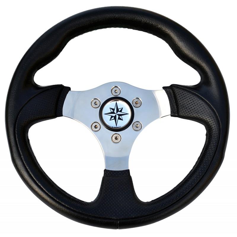 Steering Ultraflex T12 black 300 mm