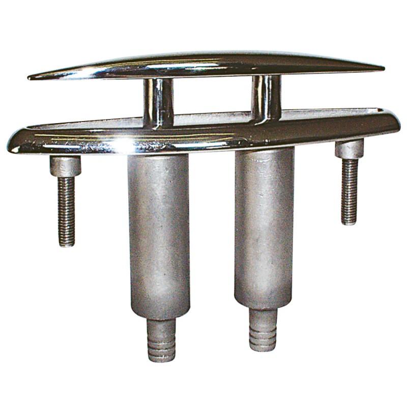 Cornamusa de amarre empotrable de acero inoxidable 112mm