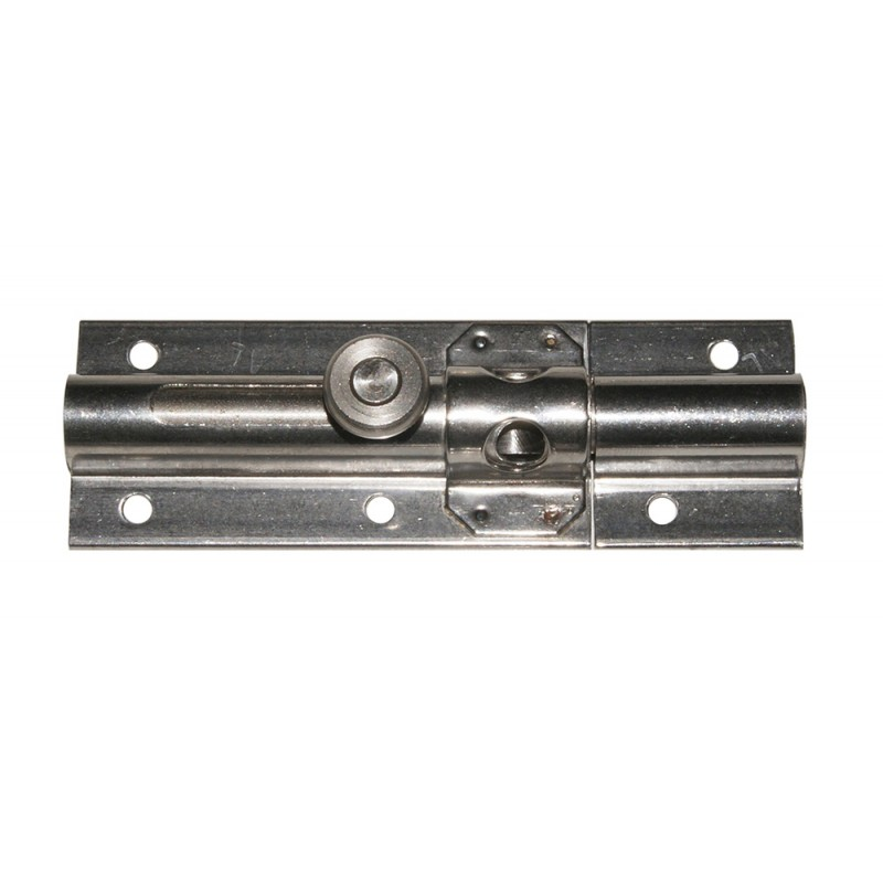 105mm stainless steel latch with eye for 10mm padlock