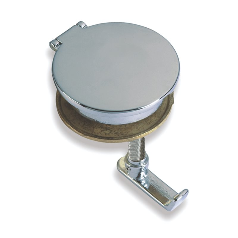 Bolt recessed lid with handle and lock