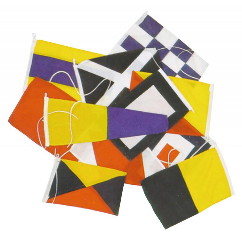 Codigo Internacional de 40 flags 14 x 20 cm