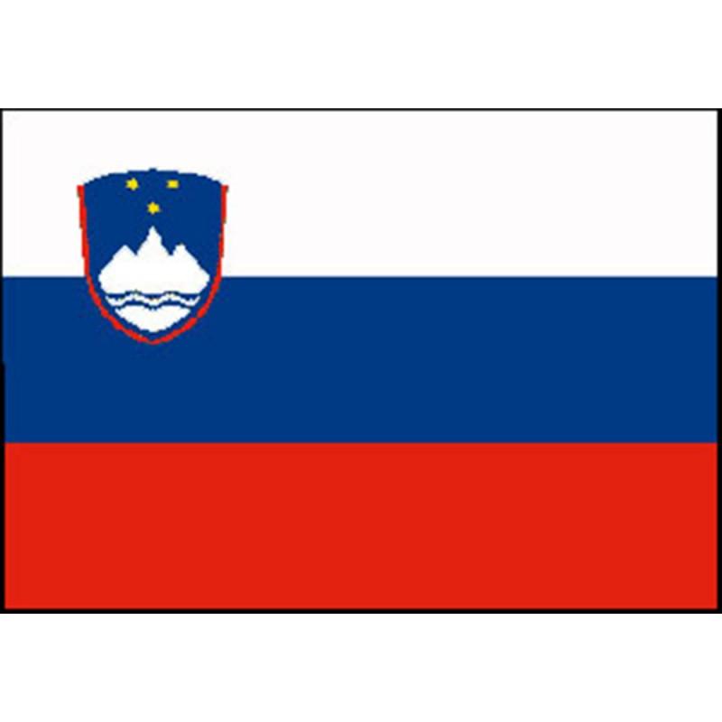 Bandera Nautica de Eslovenia 70 X 100 cm
