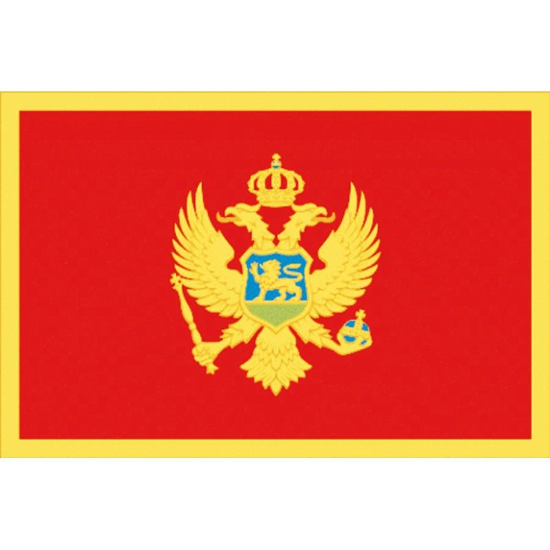 Bandera de Montenegro Cm. 40 x 60