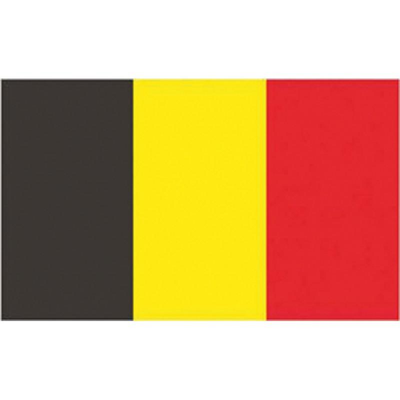 Flag Belgium 100% polyester 30 X 45 cm