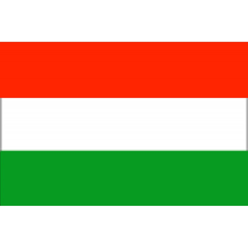Bandera de Hungría 30 x 45 Cm.