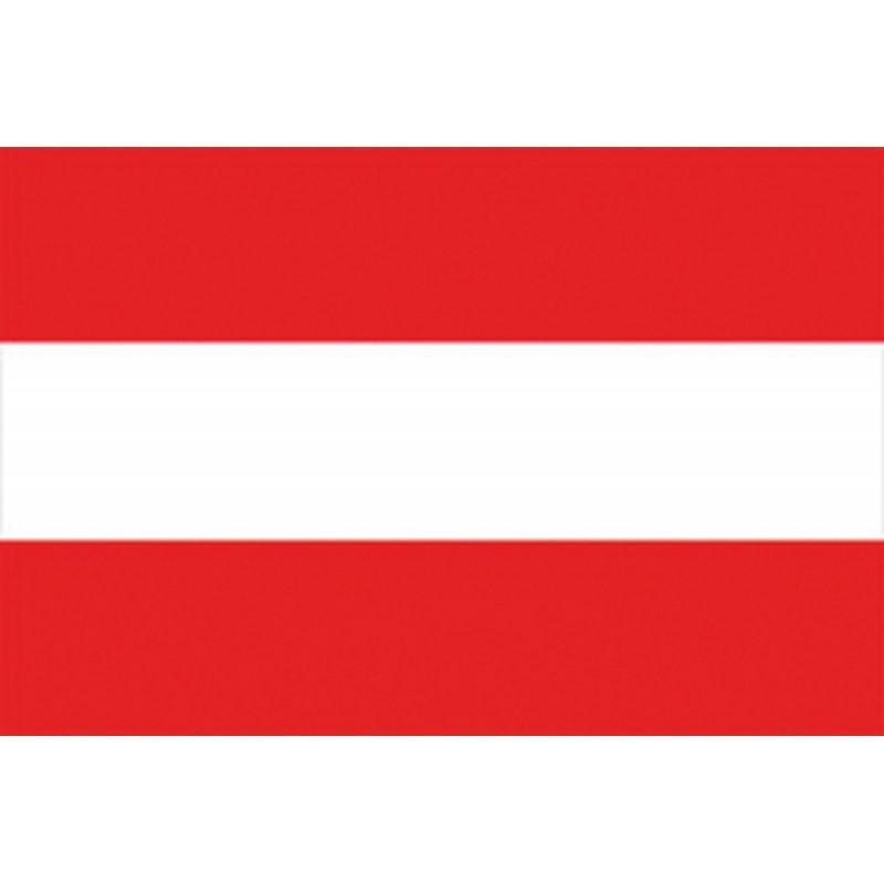 Bandera de Austria 20 x 30 Cm.