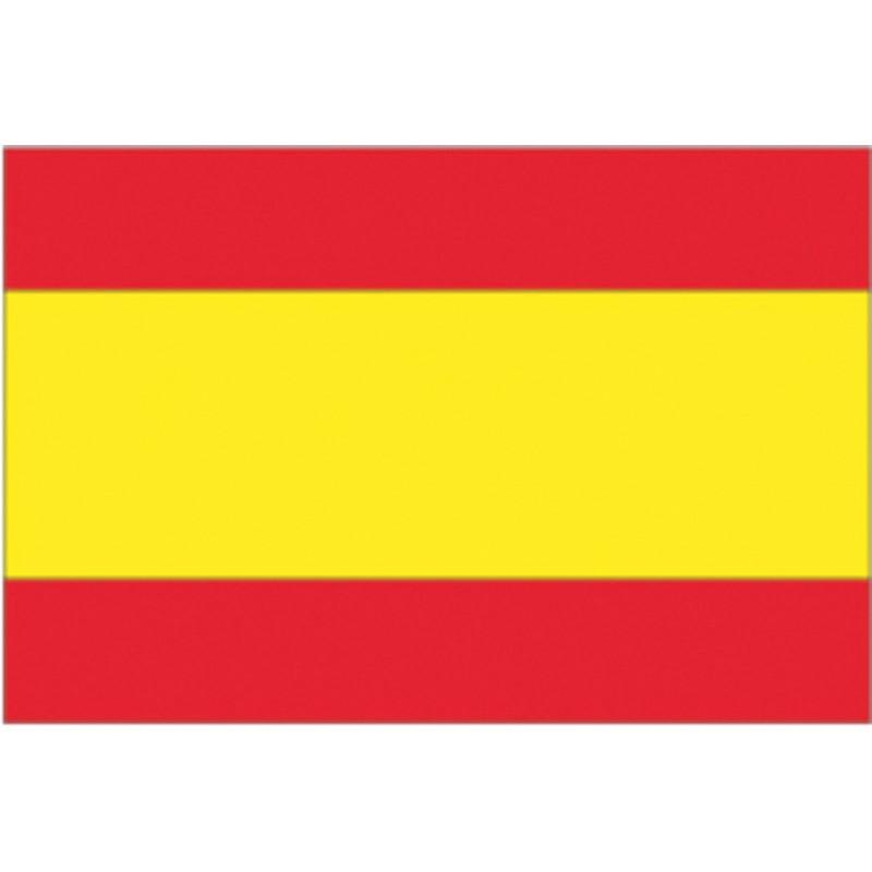 Bandera España Nautica 100% Poliester 20 X 30 cm