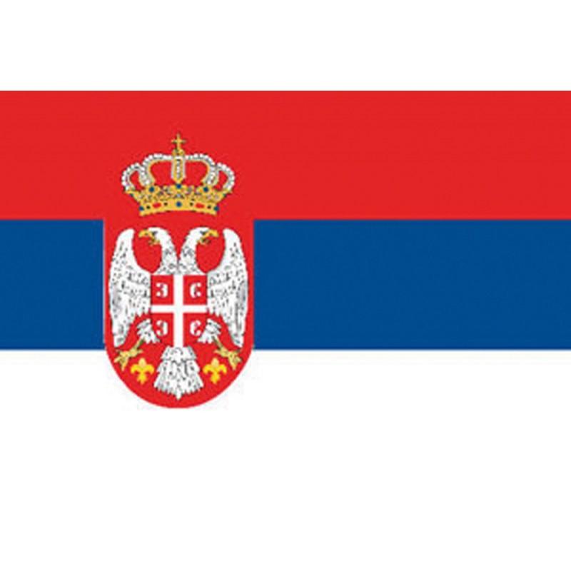 Bandera marina SERBIA cm. 40 X 60