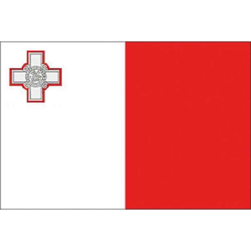 Bandera Nautica MALTA cm. 30 X 45