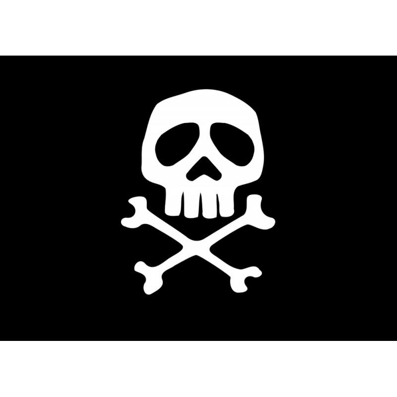 Bandera pirata cm. 30 x 45