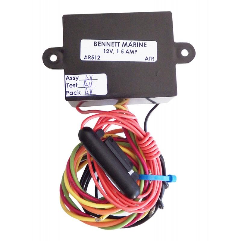 ATR trim tabs Bennet 24V Control