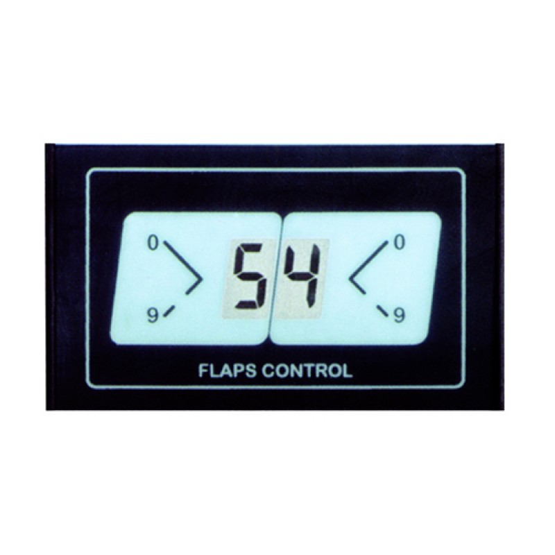Pantalla LCD display para Angulo de Flaps 85x50 mm