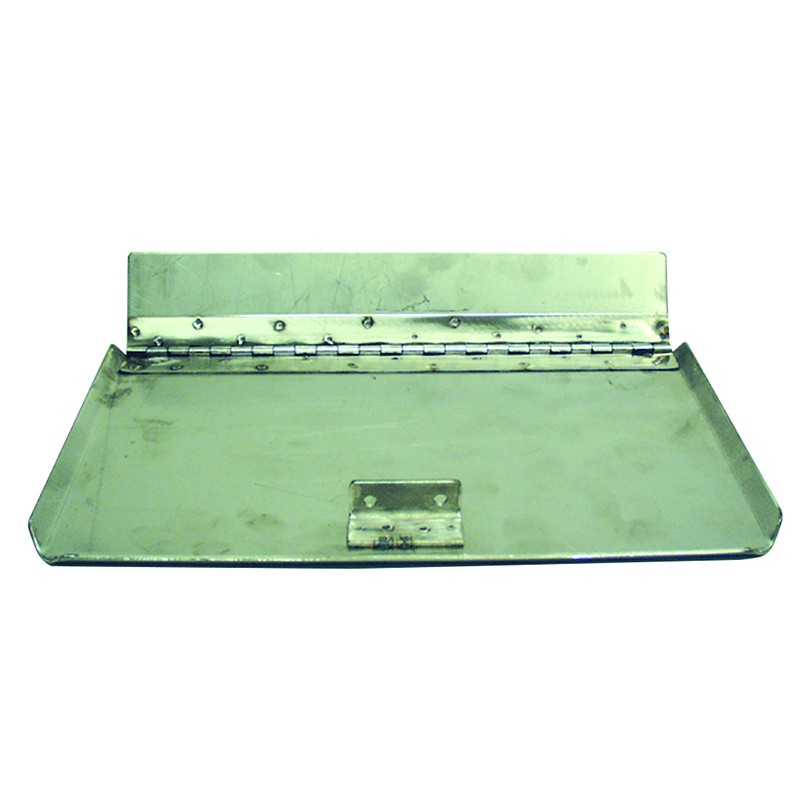 Juego Planchas Inox Flaps Universales 400x230 mm