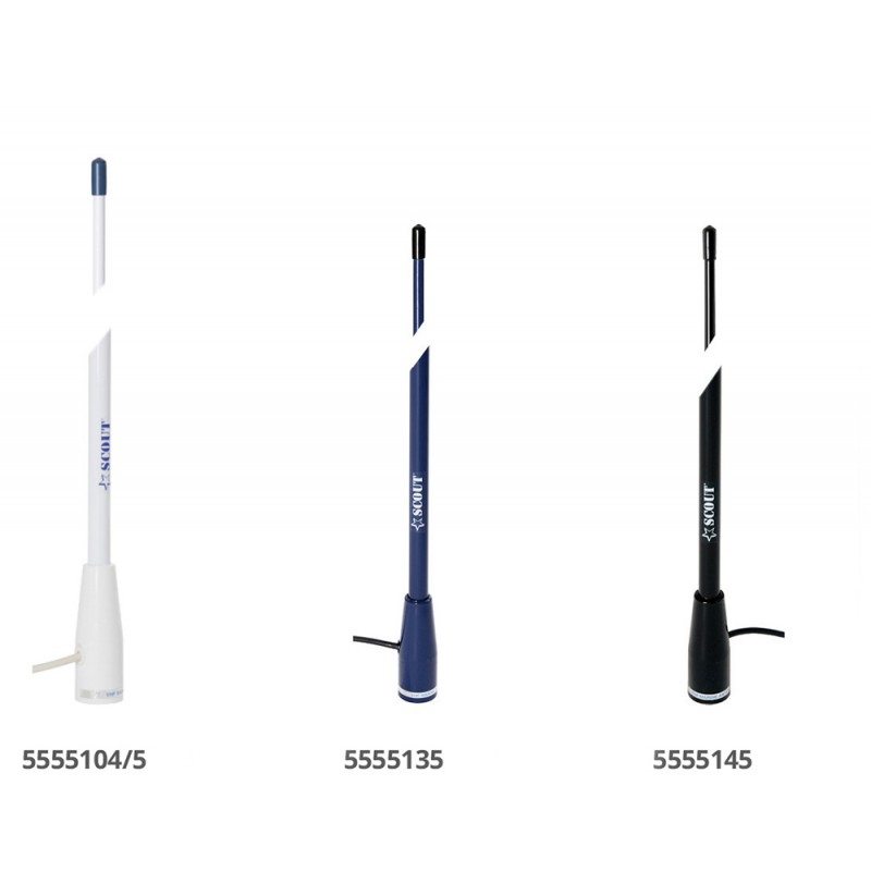 Antenna VHF Scout Color blue 150cm