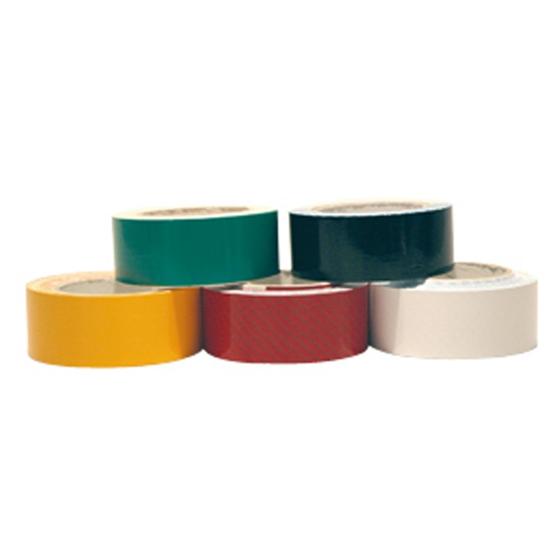RED Scotch tape in bright vinyl for water lines 20 mm x 20 mt