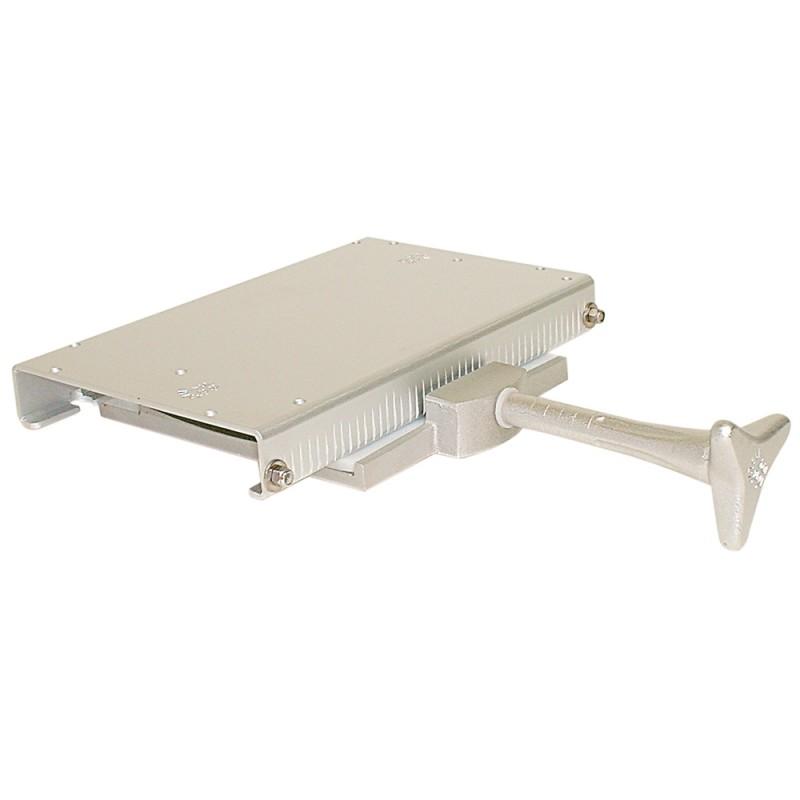 Base del asiento SAFE de aluminio con deslizador 320x205x60mm
