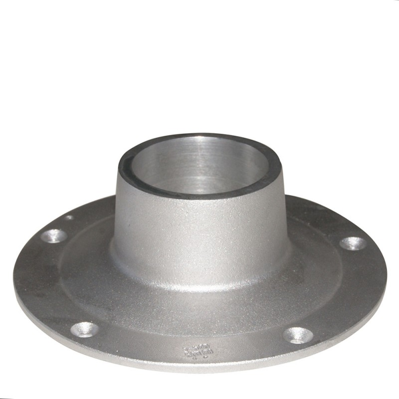 Base atornillable aluminio EXTRA 170mm para pedestales