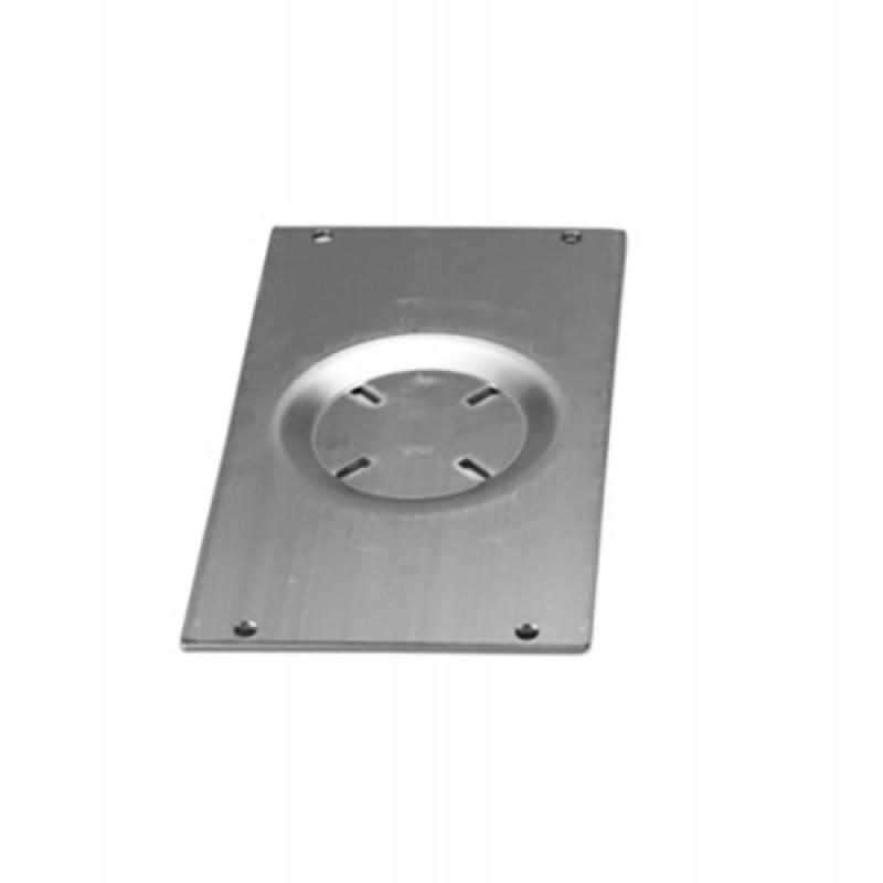Base en aluminio 330x180 mm para Sillones Marinos