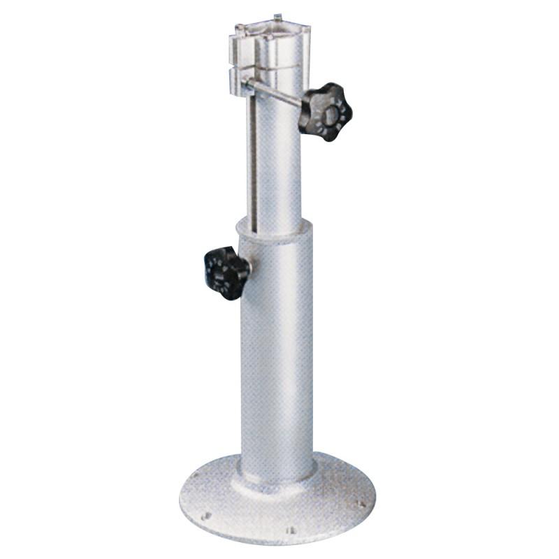 Pedestal de Aluminio Telescopico 400-600mm para Sillones
