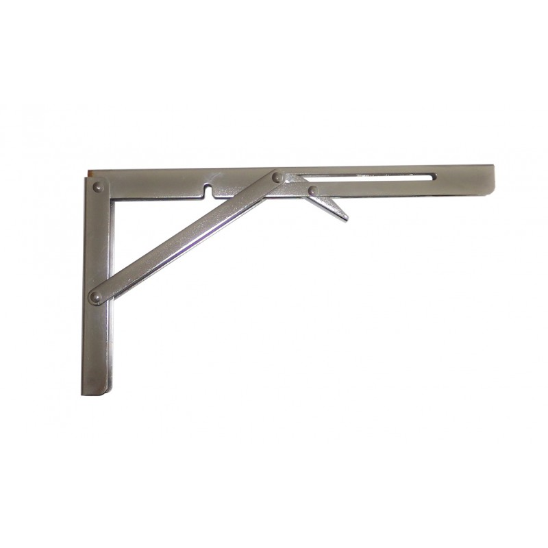 Stand folding stainless steel for mounting of nautical tables